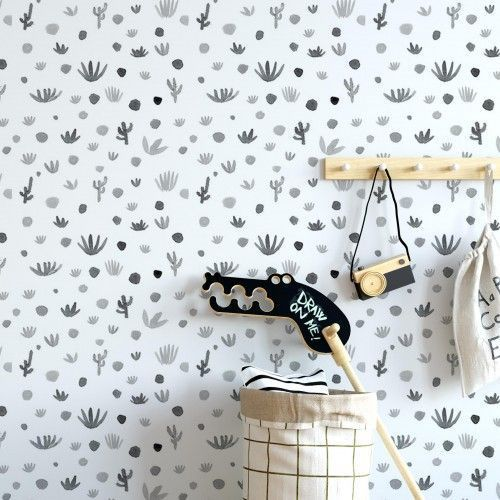Papel Pint Cactus Antracita